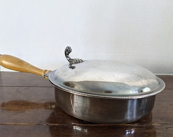 Vintage Silent Butler, Crumb, Ash, and More, Made by Sheffield Silver, USA