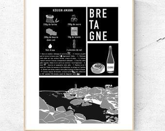 Poster - Breton recipe