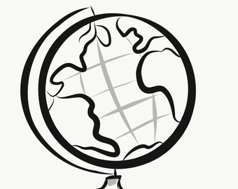 Globe Earth - SVG - PNG