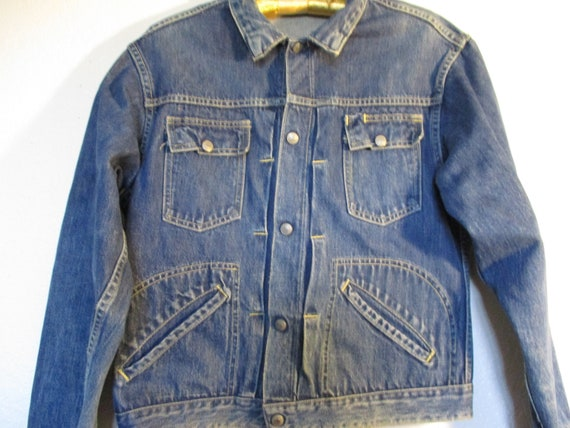 Vintage JCP Foremost Denim Jacket