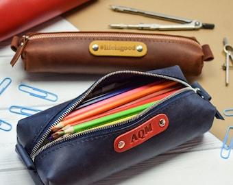 Pencil Case Makeup Bag Embroidered Clutch Zip Pouch Organizer Pouch