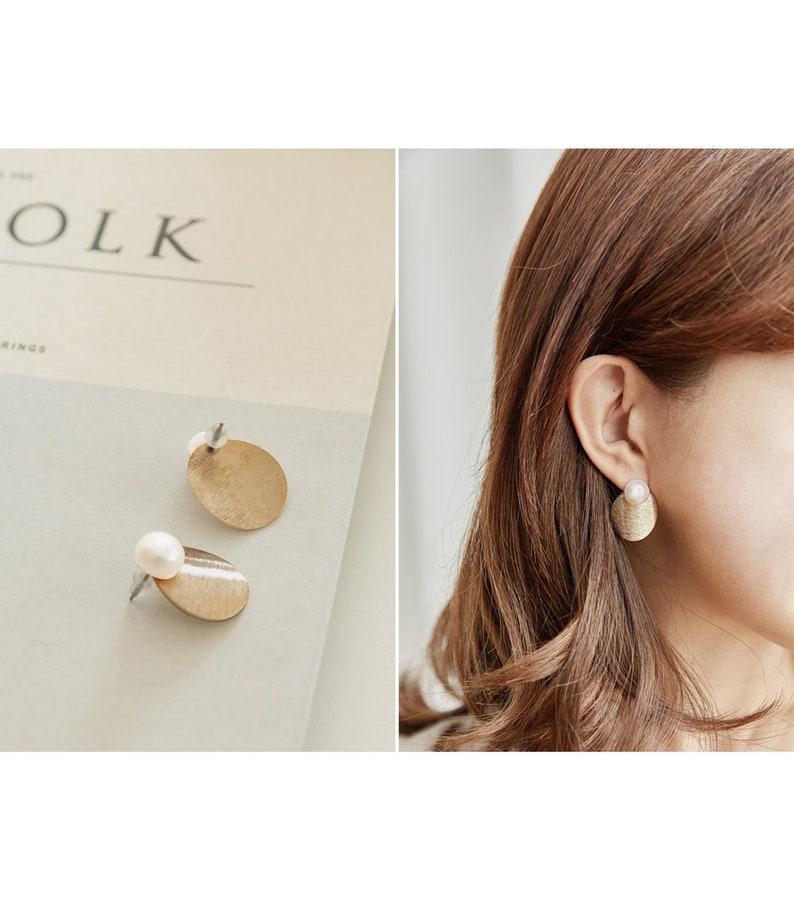 Luona pearl earring