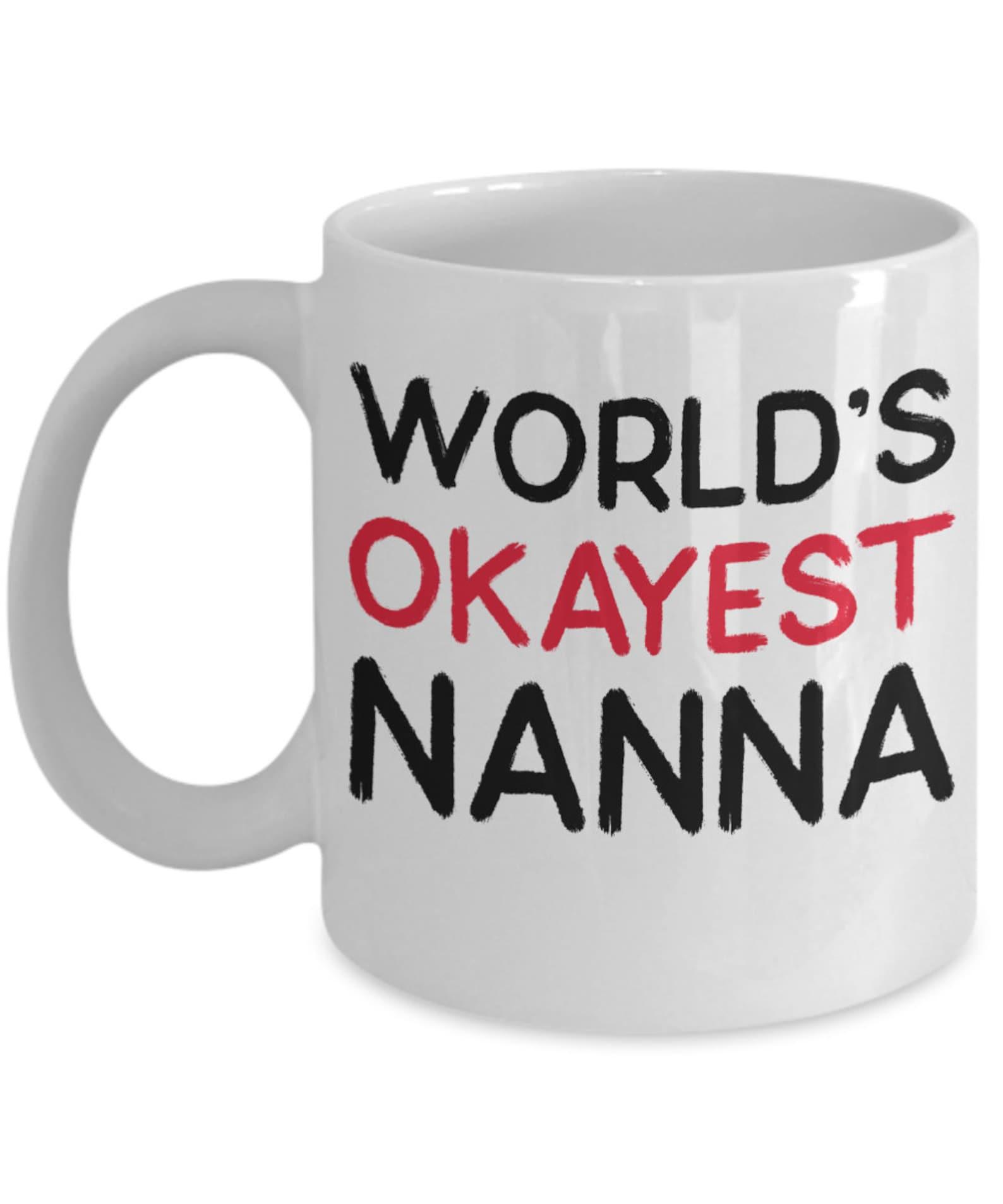 Nanna Kaffeebecher Geschenk für Nanna Nanna Becher   Etsy