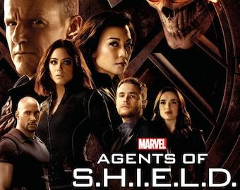 - Ghost Rider Marvel Agents of Shield Season 4 TV Poster 24x36 Hydra