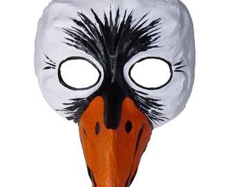 Turchese CIGNO Fiore colore-Argento tagliare lui e lei maschere Veneziana masquerad