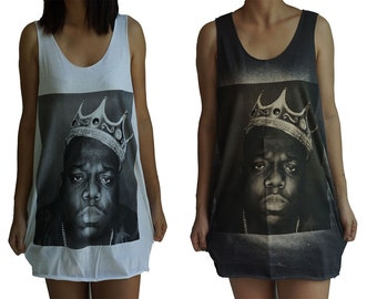 Unisex Biggie Smalls Coogie Sweater White Tank Top Babes /& Gents The Notorious B.I.G