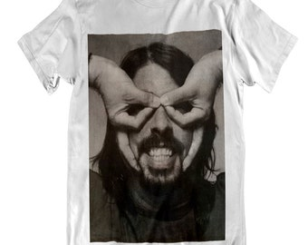 BEST OF YOU DAVE GROHL UNOFFICIAL FF ROCK GRUNGE 3//4 SLEEVE BASEBALL TEE