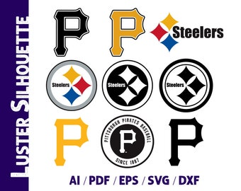 photo regarding Printable Steelers Logo titled Steelers brand Etsy