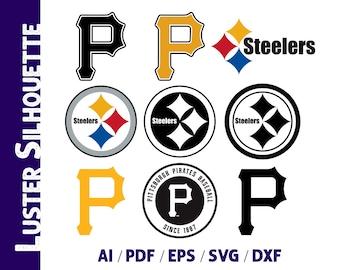 photo regarding Printable Steelers Logo titled Steelers brand Etsy