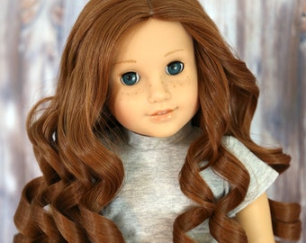 """American Girl Wig /""""Blonde Cream/"""" Straight Replacement Wig for 18/"""" Doll"""