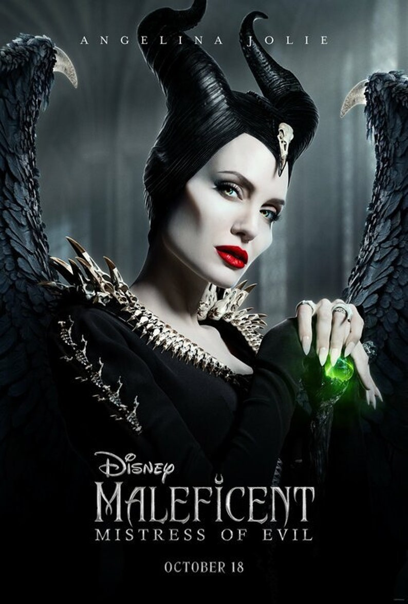 Maleficent: Mistress of Evil poster silk art new movie image 0