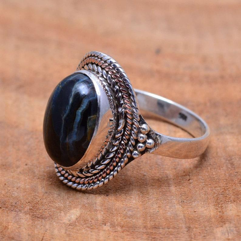 Labradorite ring*gemstone silver ring*natural labradorite gemstone ring*silver gemstone ring*sterling silver ring*handmade ring*promise ring