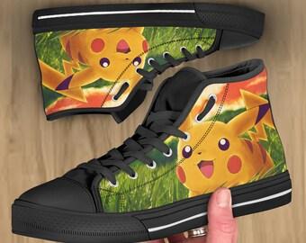 dce6ea00a0086 Pokemon shoes   Etsy