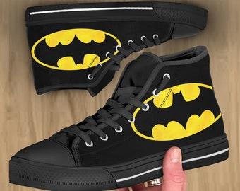 1ea19a1449cee Batman shoes | Etsy