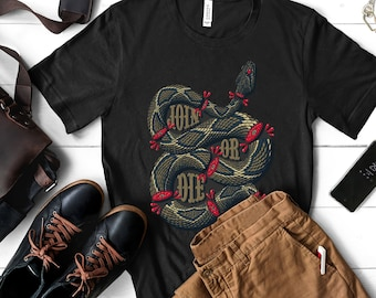 5593cc64f Join or die unisex t-shirt; motivational t-shirt;snake t-shirt; Gucci  inspired t-shirt;clothing for women and men;Handmade; 100% authentic