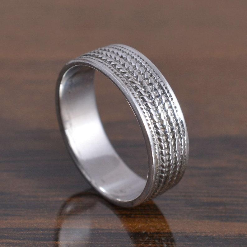 Plain silver ring-silver band-silver plain ring-925 sterling silver band-simple silver ring-silver plain ring-band in silver silver jewelry
