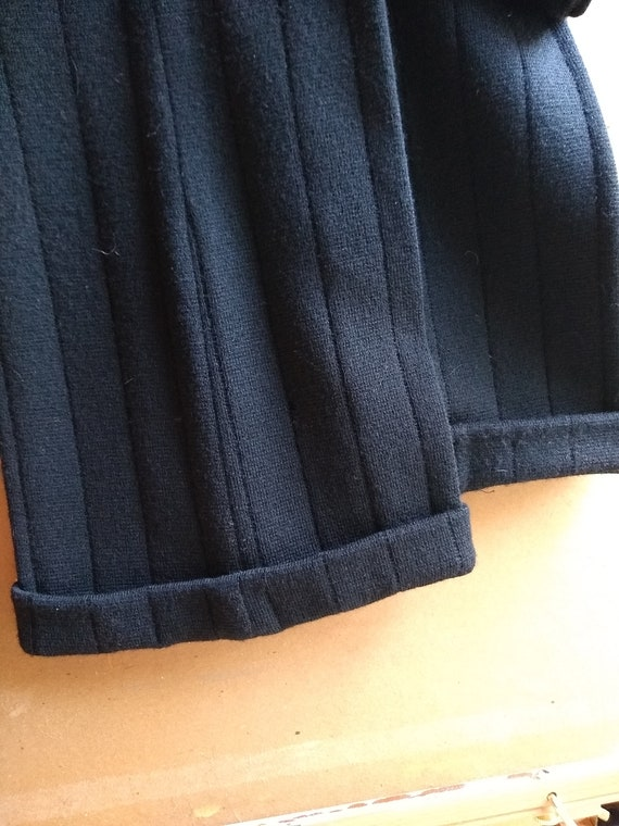 70s Italian Wool Knit Bell-bottoms - image 7