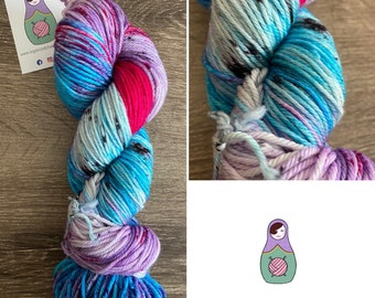 Vortex worsted yarn
