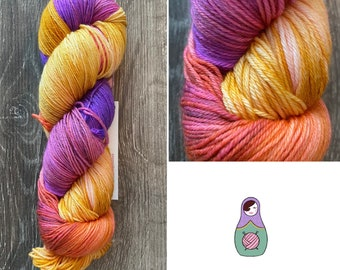 Sultry Sunrise Cashmere yarn