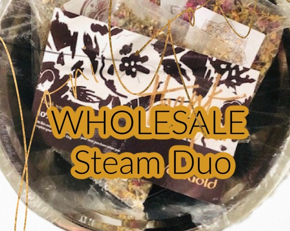 WHOLESALE 5 Steam Duo Yoni Steam Pan Sets with 5 Yoni Steam Blends