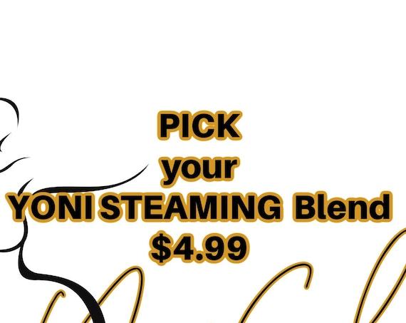 Yoni V Steam Herbal  Blends Your Choice YONI TEA V STEAMING