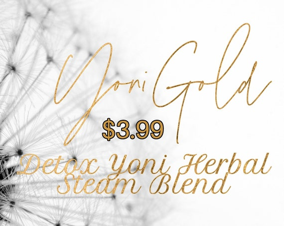 Detox Yoni Monthly Cleansing Steaming Herbal Blend