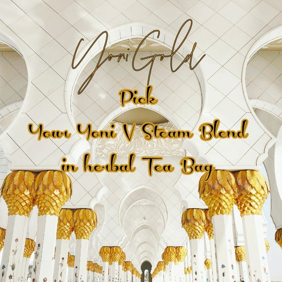 YONI STEAM BLEND Pick Your Yoni Steaming Blend , Pre-package, Pre-measured in an herbal bag No mess V-steam