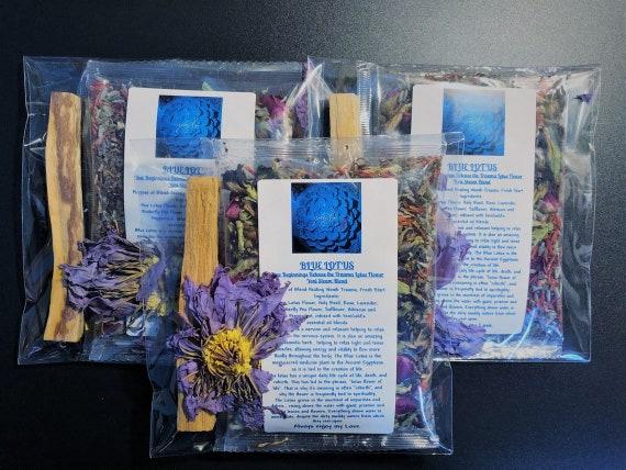 BLUE LOTUS New Beginnings Release the Trauma Lotus Flower Yoni Steam Blend