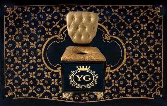 Yoni Throne  Deluxe Steam Sauna Throne Chair, tufted back, cushion seating Custom