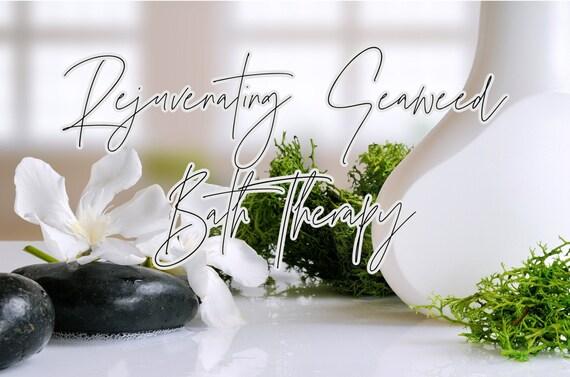 Seaweed Bath Blend Tea Bag Soak BlackRose Spa and Bath Rejuvenate Mind Body and Soul