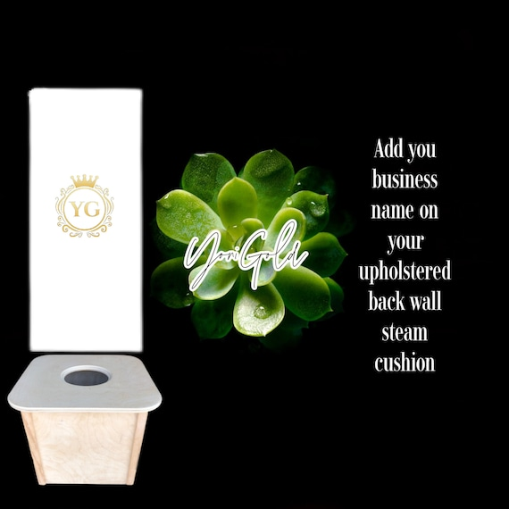 Yoni Steam Back Cushion with or without Business name
