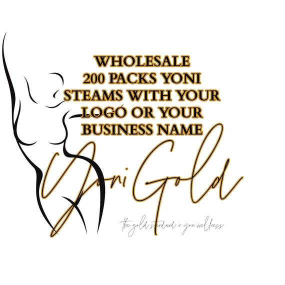 YONI STEAMS Wholesale 200 Individual YONI Steam Blends Your Choice Yoni Steam Blend