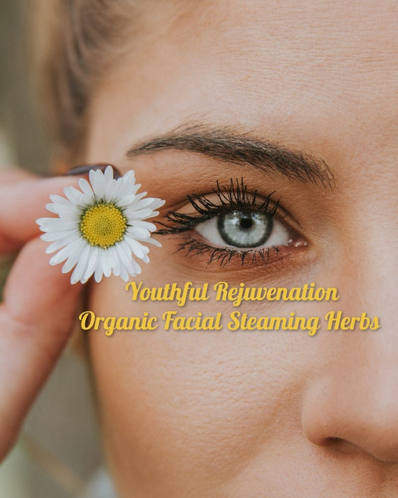 YOUTHFUL Rejuvenation Organic Facial Steaming Herbs with Organic Camellia Seed Oil   Imported From Japan