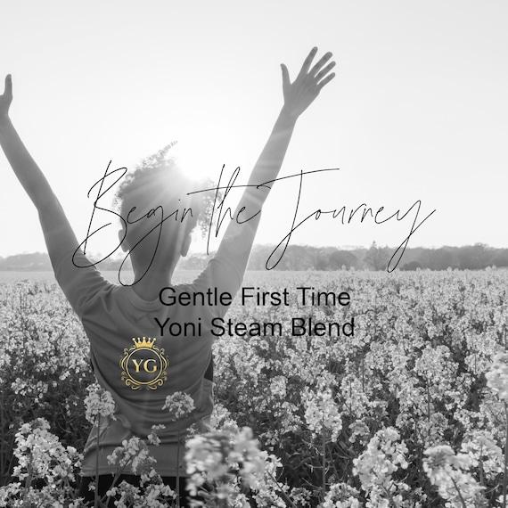 Begin the Journey Yoni Gentle Steam Blend, Gentle Yoni Steam Blend, Teen Yoni Steam Blend, Mild Yoni Steam Blend