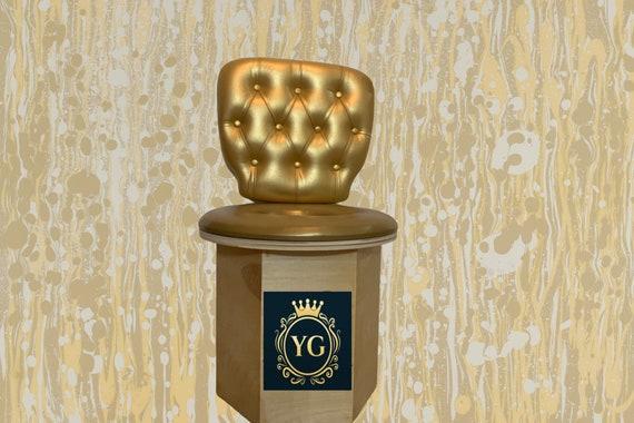 YONI THRONE Yoni Steam HEXAGON Sauna Chair Seat with Tuft wall Cushion and seat cushion