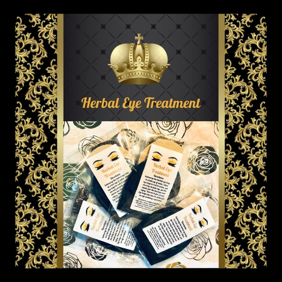 Herbal EYE Treatment Love Spa Gentle with Eyebright, reduce dark circles, puffiness