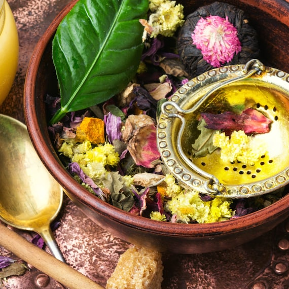 BESTSELLER, Organic Loose Feminine Tea, Lady Tea, Well Women Tea, Menopause Tea, Loose Tea, Spice Fruity Tea