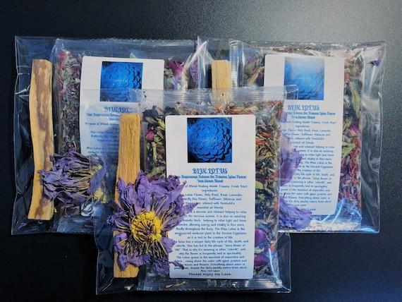 BLUE LOTUS New Beginnings Release the Trauma Lotus Flower Yoni Steam Blend, Yoni Soak, Yoni Steam, Womb Steaming, Vaginal Steaming