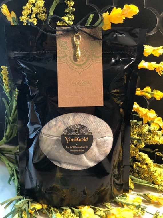 Weekly Steaming Herb Routine Self Care GOLD GODDESS Herbal Monthly Routine Three weekly Steams