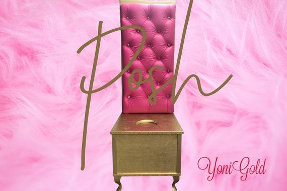 YONI THRONE Elegant 5 feet POSH Yoni Steam Chair Throne