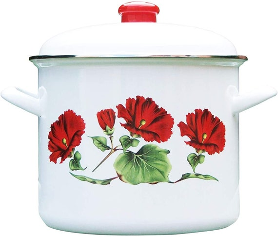 Yoni Rose Herbal Steaming Pot with lid Yoni Pot