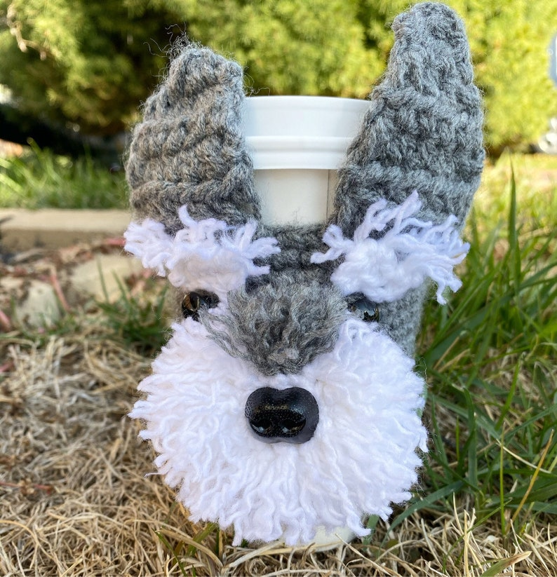 Custom Dog Cup Cozy dog Lover Gift cup cozycoffee image 0