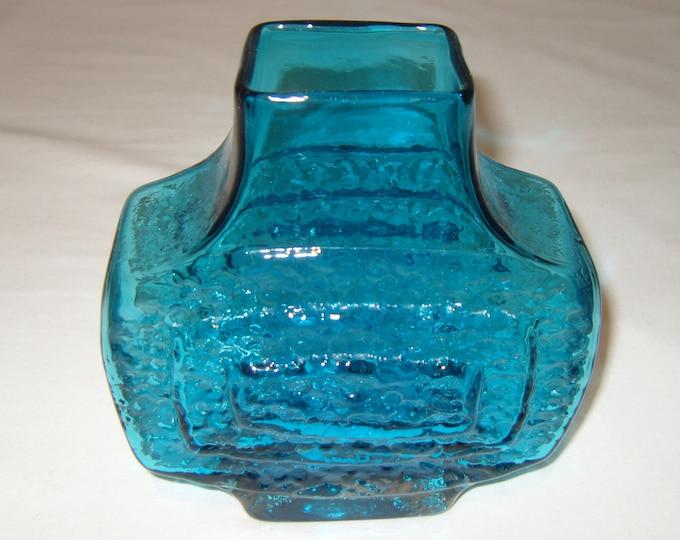 Whitefriars Blue TV Vase (286)