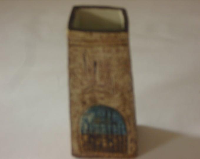 Troika Coffin Vase (306)