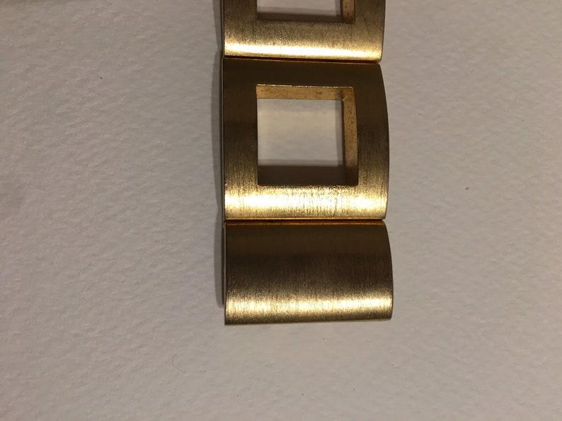 80s bracelet Helena Rubinstein Vintage Bracelet Golden brass bracelet