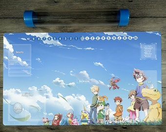 Digimon Board Game Trading Card Game Playmat DTCG Duel Mat Free High QualityTube