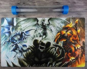 YUGIOH Dragon Ruler Custom Playmat Trading Card Game mat