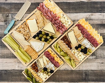 Funny Charcuterie Board for Food Lover, Personalized Cheese Board Gift, Unique Engraved Charcuterie Board for Hostess Wedding Housewarming