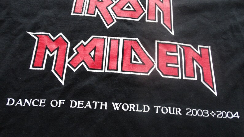 2003 Iron Maiden \u2014 Dance of Death  The Number of the Beast Judas Priest Mot\u00f6rhead Black Sabbath Metallica ACDC  The Number of the Beast