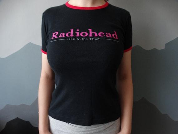Vintage Radiohead Shirt - Hail To The Thief Shirt